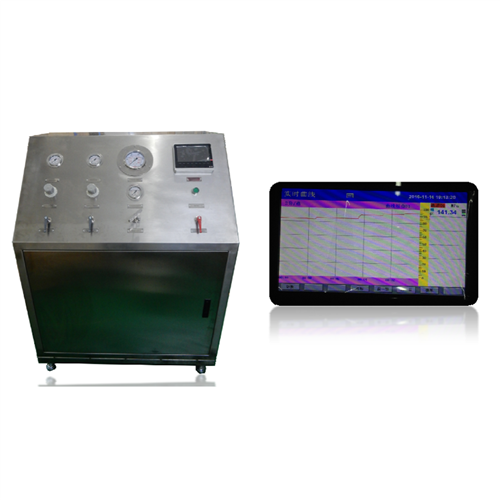 Pneumatic Driven Liquid Booster System on Run In All   Instrumentation